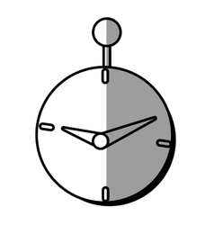 Clock time business money design shadow vector