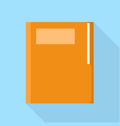 office folder icon flat style vector image