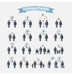Relationships concept vector