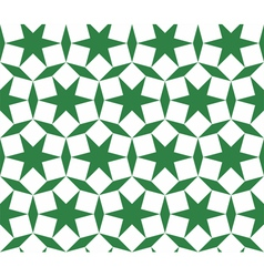 Seamless islamic ornament - girih pattern vector image