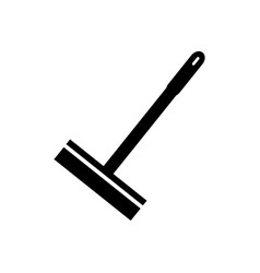 Squeegee window icon vector