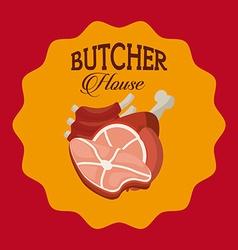 Butcher house vector