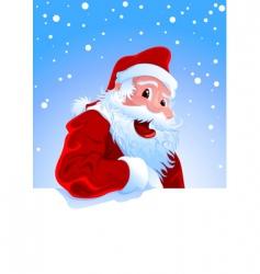 happy Santa vector image vector image