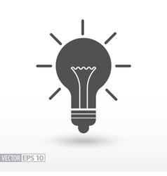 Lamp - flat icon vector image