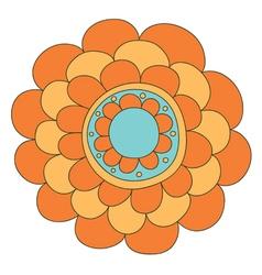 Abstract floral ornamen vector
