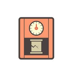 Concrete testing icon vector