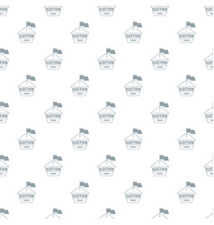 Election today pattern seamless vector