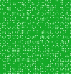 Green square pixel mosaic background vector