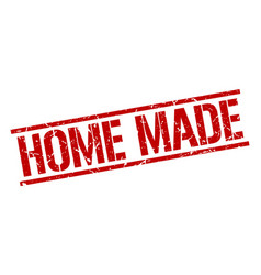 home made stamp vector image