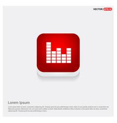 Sound beats icon vector