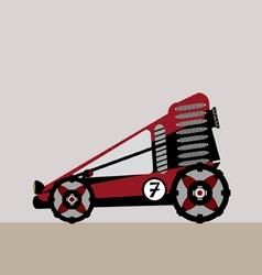 all terrain vehicle vector image