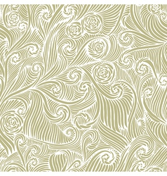 Vintage style seamless background vector image