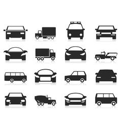 Car icon3 vector image vector image