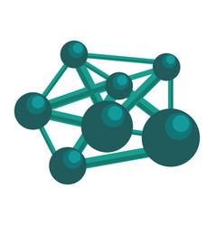 Atom science molecule vector