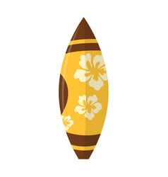 abstract summer surfboard vector image