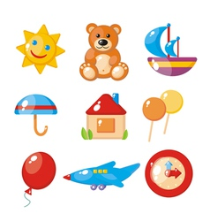 childrens set vector image