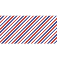 classic retro background diagonal stripes red blue vector image