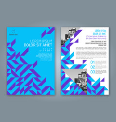 Cover annual report 832 vector