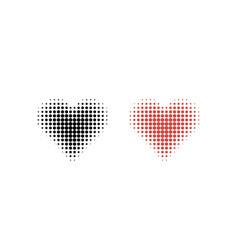 hearth set icon on a white background hearth icon vector image