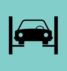 Icons car service vector