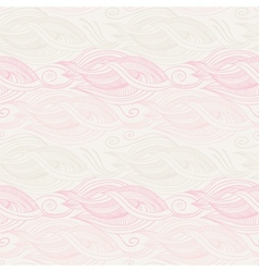 Stylized waves elements pattern vector image