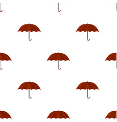 Umbrella icon in cartoon style isolated on white vector