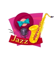 Jazz vector image