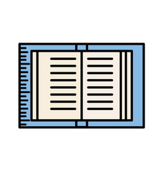 Book read learn image vector