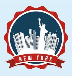 new york vector image