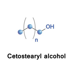 Cetostearyl fatty alcohol vector