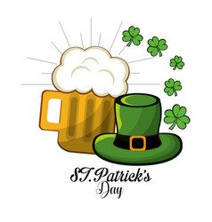 Patricks day icon image vector