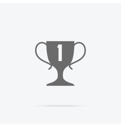 Winner Concept Goblet Design Flat vector