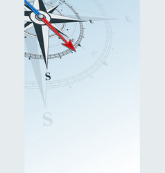 Compass southeast background vector