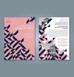 Cover annual report 840 vector