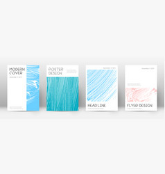 Cover page design template vector