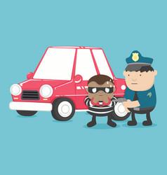 Motor vehicle theft vector
