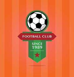 Soccer Football Badge vector