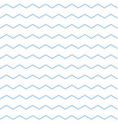 tile pattern with pastel blue and white zig zag vector image