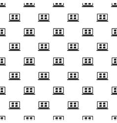 Folder on laptop pattern simple style vector