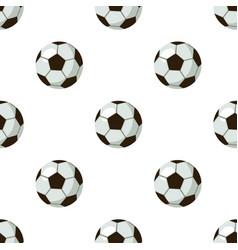 Football ball icon in cartoon style isolated on vector