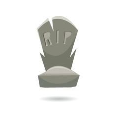 Grave isolated on a white backgrounds vector image