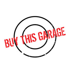 Buy this garage rubber stamp vector