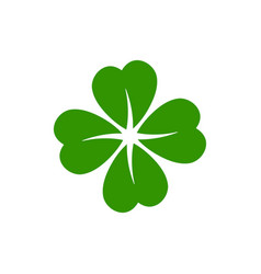 Clover icon design template isolated vector
