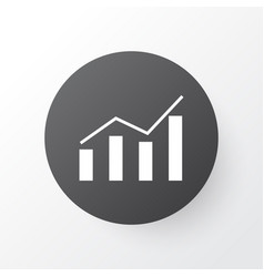 Economics profit icon symbol premium quality vector