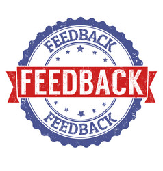 Feedback stamp vector