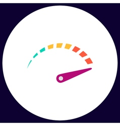 Indicator computer symbol vector