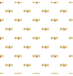 magic scroll pattern vector image