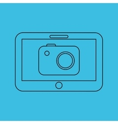 technology app ecommerce vector image