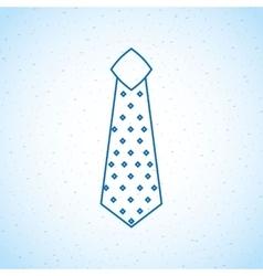Tie icon design vector