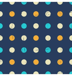 Vintage Polka Dot Pattern vector